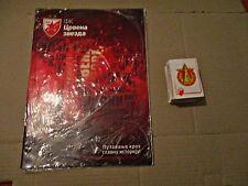 CRVENA ZVEZDA (RED STAR) - EMPTY ALBUM AND FULL SET OF STICKERS - NO PANINI