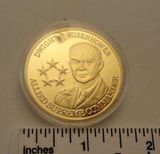PROOF Dwight D Eisenhower - Allied Supreme Commander - Medal