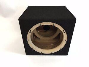 JL Audio 10W6v3 sealed subwoofer box, enclosure