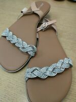 Pier One Sandals.Ladies Size EU 41/UK7 . Ref Crate 2