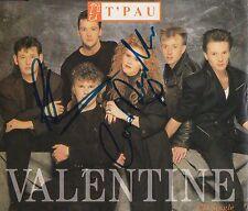 T'Pau - Valentine [SIGNED CD Single]