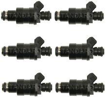 NEW Set of 6 Standard MFI Fuel Injectors for BMW E23 E24 E28 3.2L 3.5L V6