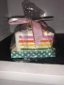 chawa Squishy Mini Rainbow Cake