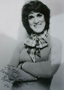 "Ruth Buzzi Signed 8""x10"" Black and White Signed Photo Autographed Actress"