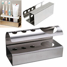 Unbranded Silver Toothbrush Holders