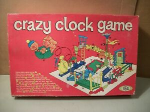 Crazy Clock Game by Ideal Original Instructions and Box