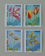 France année 2008 préoblitéré 253 à 256 neuf luxe ** préo orchidées fleurs