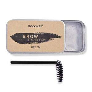 Brow Styling Soap Kit, Long Lasting, Waterproof Eyebrow Setting Soap with Brush
