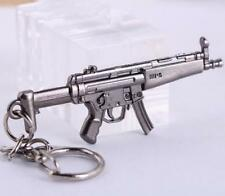Cross Fire CF Submachine Gun KeyRing MP5 Cool Miniature Weapon Model Keychain *