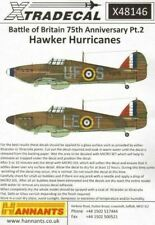Xtradecal X48146 Hurricane Mk.i Battle of Britain 1940 Pt.2 - 1/48 Scale Decals