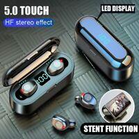 H&A Bluetooth V5.0 Earphone Wireless Earphones Stereo Sport Wireless Headphones