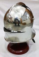 Medieval German Sallet Helmet European Closehelm Collectib halloween costumes VG