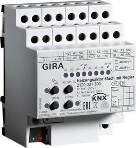 GIRA 212900 KNX Heizungsaktor 6fach mit Regler