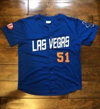 Las Vegas 51s Jersey Mens Size X Large XL Minor League Baseball Team Blue White