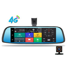"8"" 4G Touch IPS Car DVR Camera Android 5.1 Mirror GPS Bluetooth WIFI Dash Cam"