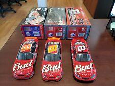 Lot of 3 Dale Earnhardt Jr. #8 Bud Talladega Raced Win 1:24 Action NASCAR MIB
