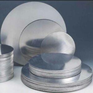 100 - 200mm Dia. Round Aluminum Sheet Disc Plate DIY Model Craft Art 6061 T6