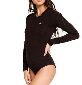 Calvin Klein Long Sleeve Bodysuit - QS6574