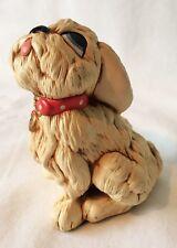 """Vintage Pendelfin Hand Painted Stonecraft """"Tammy"""" Doggie England"""