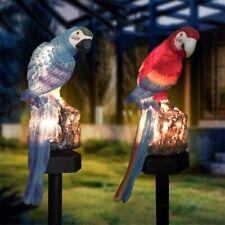 Solar Parrot Garden Light LED Patio Light Waterproof Decorative Landscape Lamp