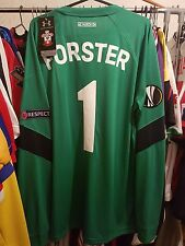 Southampton Camiseta de fútbol 2016/17 Portero Gk grandes ~ Forster 1 Europa Liga