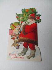 New ListingEarly 1900's Dennison Christmas Money Bill Holder Card