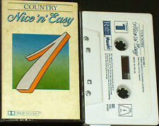 COUNTRY NICE 'N' EASY  CASSETTE 1  RDC91581 Don Williams Waylon Wynette Parton