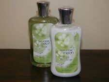 Bath and Body Works Pleasures (2 Full Size) Cucumber Melon