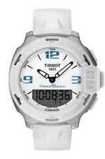 NEW  Tissot T-Race Touch White Analog Digital T0814201701701 FREE SHIPPING