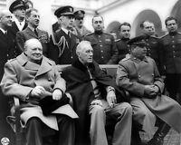 Crimean Conference- Winston Churchill, Franklin D. Roosevelt Joseph Stalin-1945