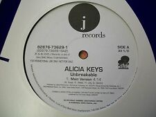 "Alicia Keys-Unbreakable-12""Single-Vinyl Record-J Records-82876736291-VG++"