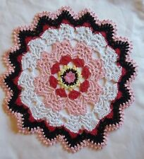 Multi-Coloured Crocheted Doilies