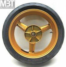 Yamaha yzf-r6 rj031 roue arrière jante 17xmt5.50 rim pneus wheel BJ. 98-02