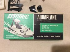 """Scalecraft Vintage Boat """"Aquaplane"""" Battery Powered IOB Never Assembled 1/72nd"""