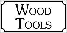 Wood Tools- 6x12 Aluminum Garage Cosplay Costume S&M sign