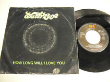 THE WATERBOYS How Long Will I Love You 7""