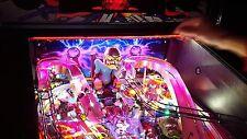 Iron Man/Metallica/Spider-man Pinball Machine Interactive Back Board Light