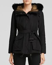 Burberry Brit Cloverdale Parka Coat Jacket w/Warmer in size 08(EU42) $1495