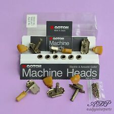 MACHINE HEADS VINTAGE GOTOH BUSHES for GIBSON LP SG RELIC 3R3L SD90SL NICKEL