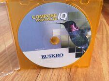 Buskro Compose Compose IQ Controller Software CD Version 8 for Inkjet Addresser