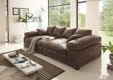 BIG Sofa -Vintage Dunkelbraun - Modell Hercules