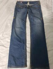 Womens TRUE RELIGION @ BILLY SUPER T BOOTCUT Denim Jeans 29 x 30