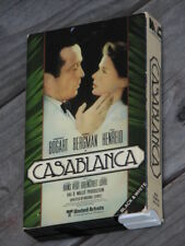 Casablanca Betamax Video Tape Movie Vintage B&W Magnetic Video Co 1981 Very Rare