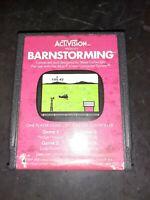 Barnstorming (Atari 2600, 1982) *BUY 2 GET 1 FREE +FREE SHIPPING*