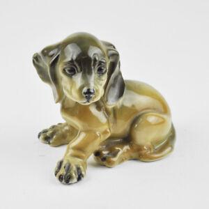Rosenthal Classic Hund - Dackel - Welpe - Georg Küspert - Porzellan Figur - alt