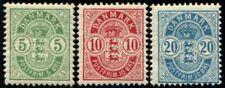 Lot N°6286 Danemark N°35/37 Neuf * TB
