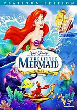 The Little Mermaid (DVD, 2006, 2-Disc Set, Platinum Edition)come with slip case