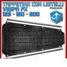 TAPPETO TAPPETINO PEDANA CENTRAL + LISTELLI NISA PIAGGIO VESPA PX 125 150 200
