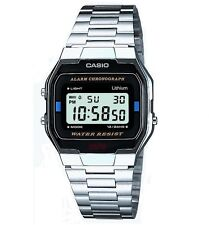Casio Silver Strap Casual Wristwatches