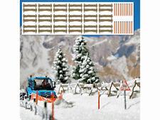Busch 1120 H0 Schneefangzäune und Schneestangen